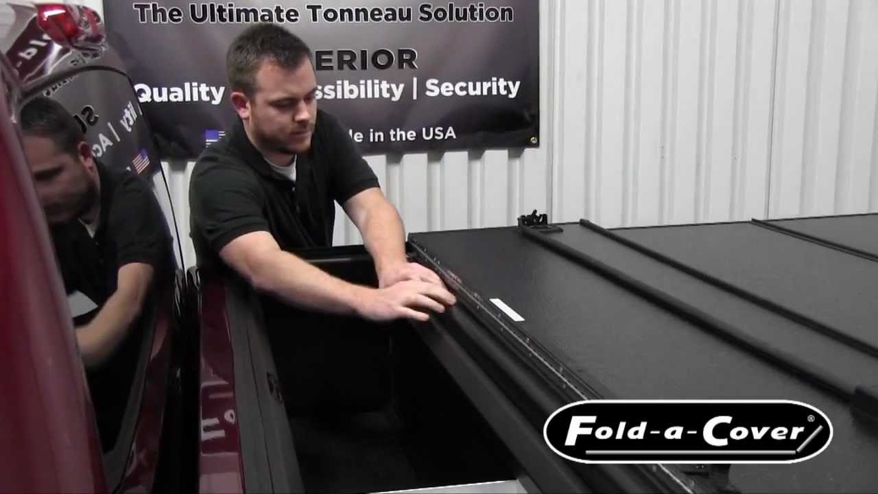 Personal Caddy Install And Features For Fold A Cover Tonneau Cover Youtube