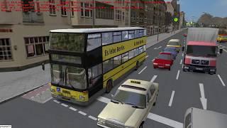Omsi 2 tour (1585) 德國 Berlin linie X92  S+U Zoologischer Garten - Maxim Kolbe Str @ MAN D92