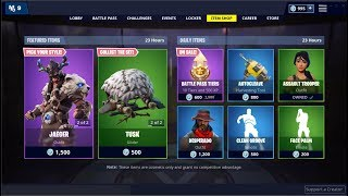 NEW* Fyra and Jaeger Skin ! Fortnite Item Shop January 18, 2019