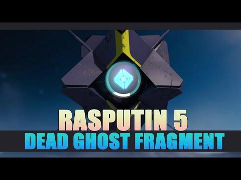 Destiny: The Taken King - Dead Ghost Rasputin 5 Location Guide