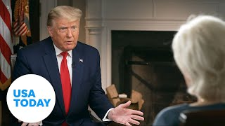 What happened during Trump's '60 Minutes' interview with Lesley Stahl? | USA TODAY