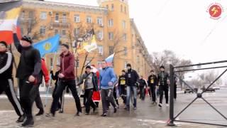 Русская пробежка 1 января 2013. Астрахань