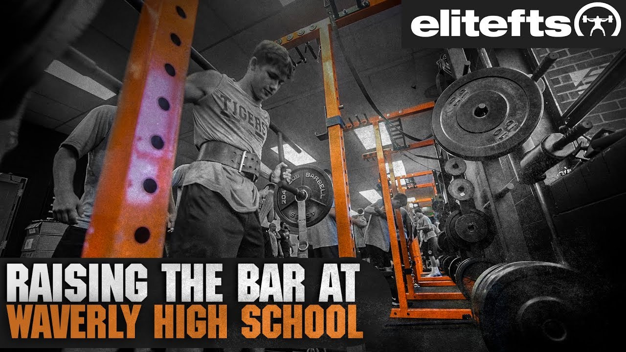 WATCH: Strength Training Program at Waverly High School Boosts