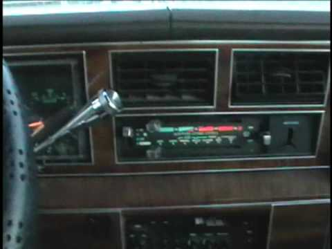 1989 Lincoln Town Car Radio Replacment - YouTube