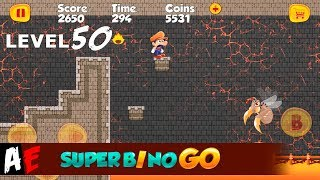 Super Bino Go LEVEL 50