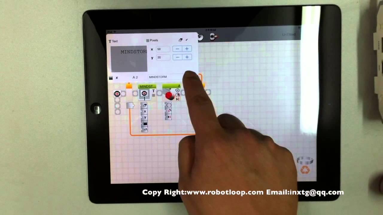 Iphone lego nxt robotics programming
