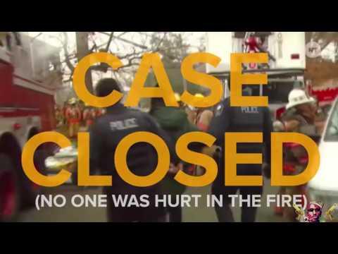 Who set the house on fire? - Thug life