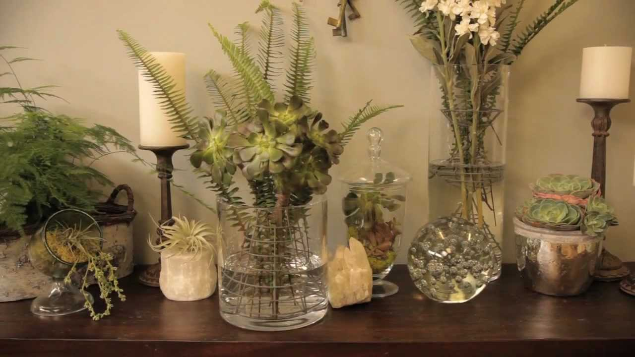 Botanicals To Create Nature Inspired Plant Centerpieces