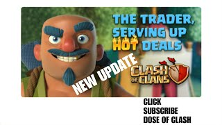 NEW UPDATE 2018 BUILDER HUT LEVEL 8 | THE TRADER | CLASH OF CLANS