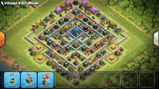 Best Th12 Trophy Base with 3 Inferno Towers | Easy Defence Wins | Clash of Clans