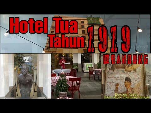 HOTEL TUA TAHUN 1919 DI BANDUNG (Review Hotel Ibis Style Bandung Braga) Bekas Hotel Wilhelmina