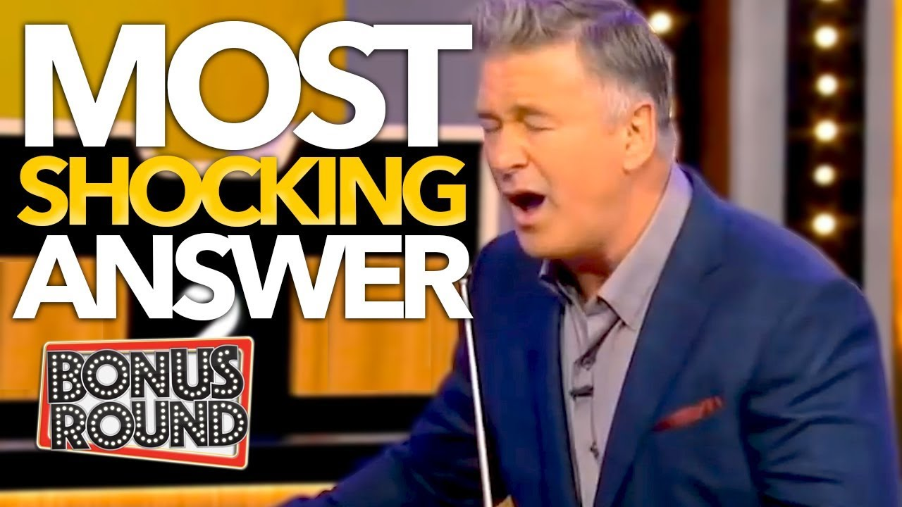 Download SHOCKING ANSWER Makes Host Alec Baldwin PASS OUT On Match Game! Bonus Round