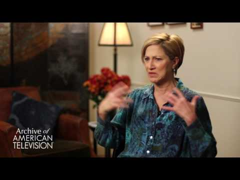 Edie Falco on filming the fight scene in
