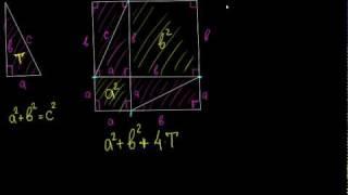 Геометрия: доказательство теоремы Пифагора