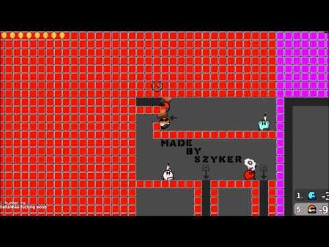 Teeworlds Super NOOB Montage(online gameplay)