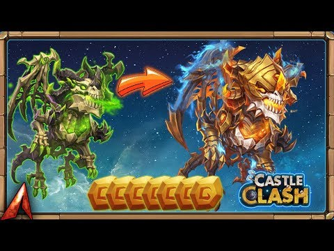 Evolving 7 New Heroes! Need Books! Castle Clash