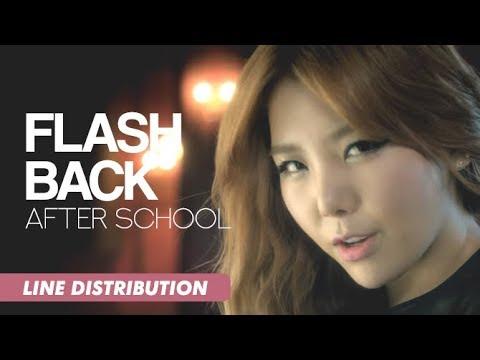 After School (애프터스쿨) - Flashback | Line Distribution
