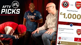 Can Lee Judges STEAL Ty's £200? | Sheffield United vs Arsenal | AFTV Picks