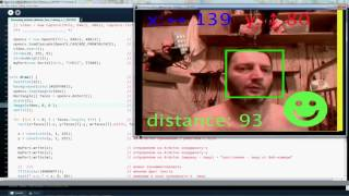 Удалили видео Arduino Processing Webcam Face Detection Обнаружение лиц Servo Pan Tilt Лайфхак