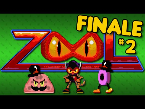 Zool (Amiga) - Part 2: FINALE - Octotiggy