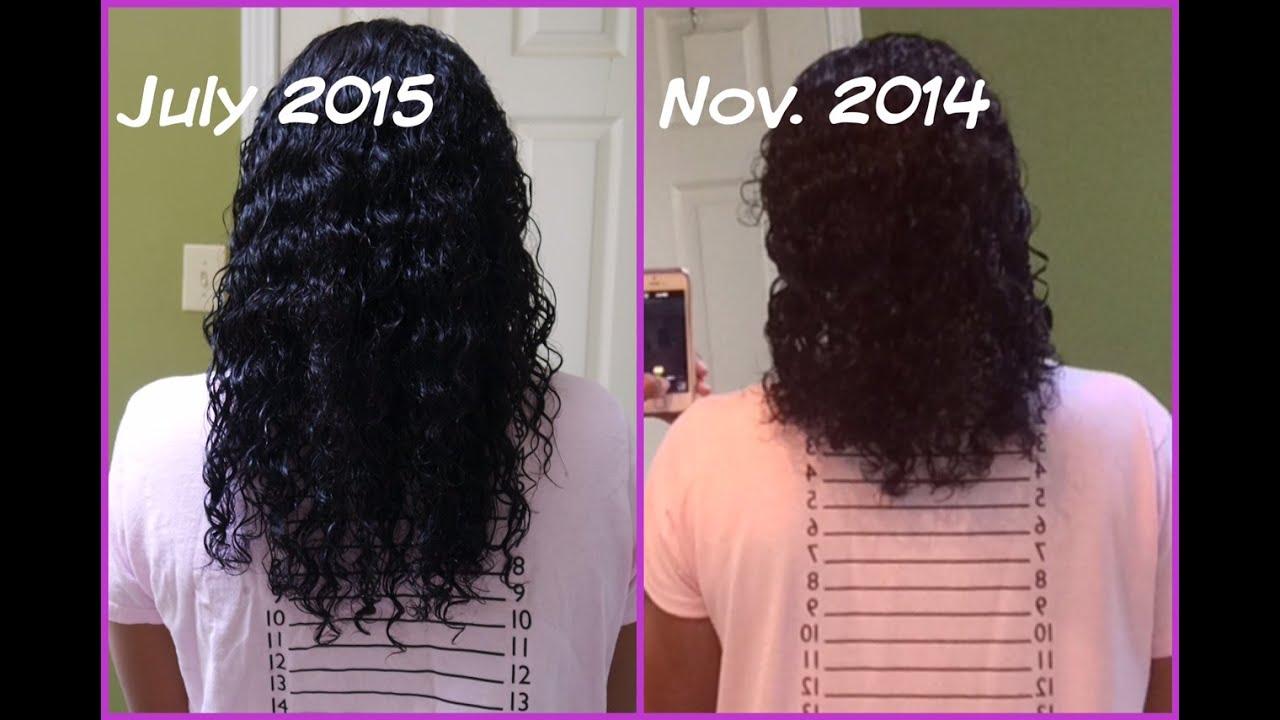 journey waist length hair month