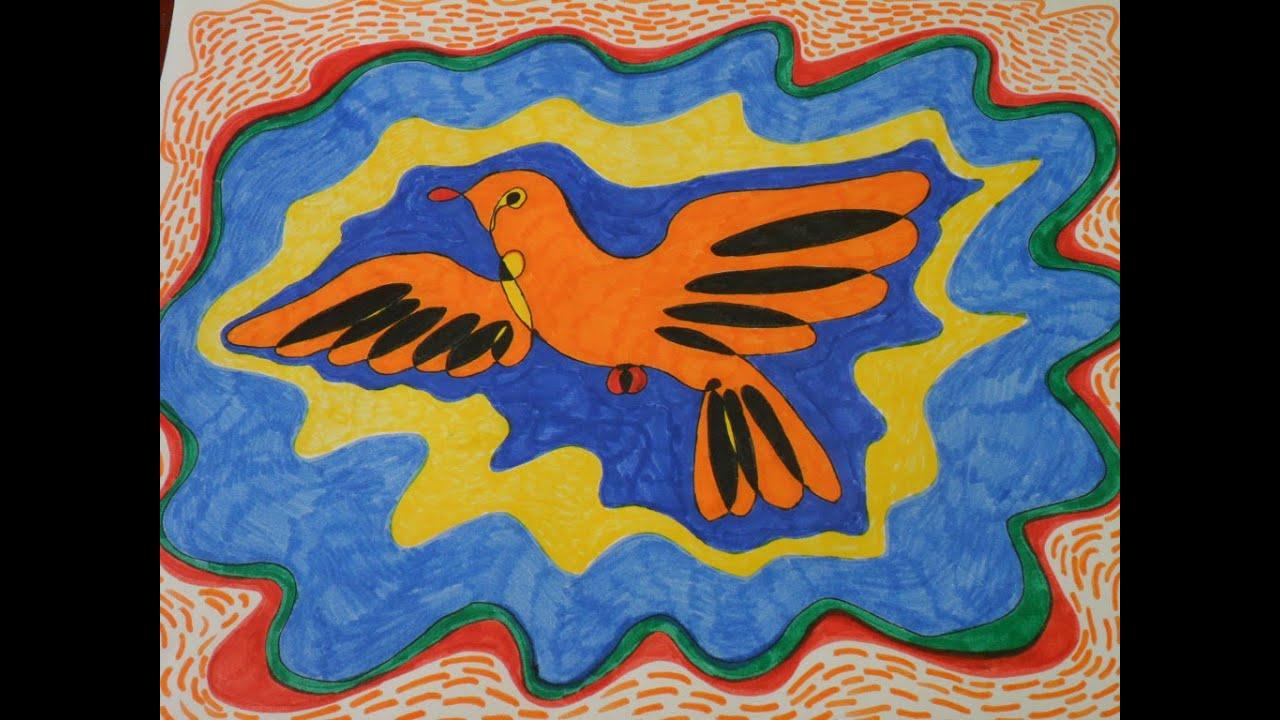 Abstracto apto para los ni os creatividad color y for Imagenes de cuadros abstractos faciles