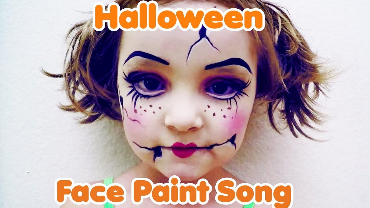 Face Paint Song 2 (Halloween Face Paint) - YouTube