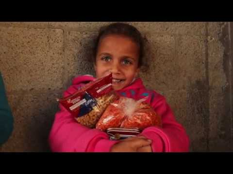 Food Baskets for poor families in Gaza Strip