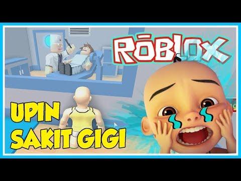 upin-sakit-gigi,-upin-pergi-ke-dokter-gigi---roblox-upin-ipin