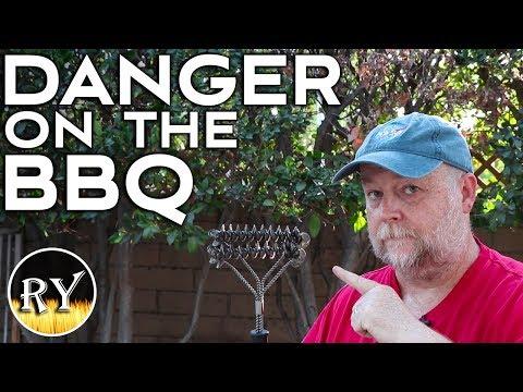 Danger On The BBQ Wire Bristle Brush Hazards