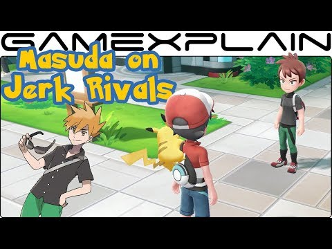 Junichi Masuda on Jerk Rivals  Pokémon Lets Go Pikachu & Eevee