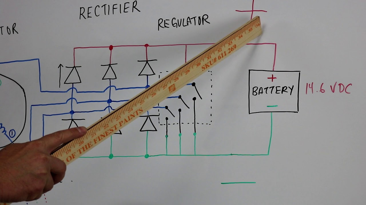 Atv Rectifier Diagram Change Your Idea With Wiring Design Polaris Voltage Regulator How To Test Rectifiers For Motorcycle Utv Rh Youtube Com Stator
