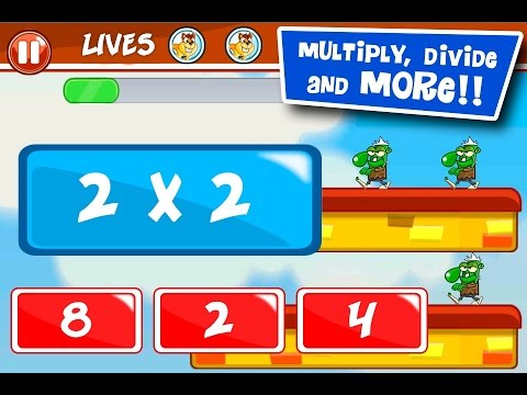 Monster Numbers Math for kids Educational Education Android Video