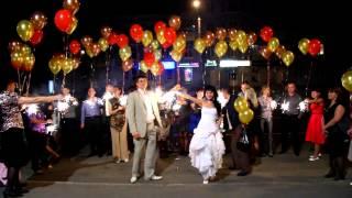 видео Эффектное завершение свадебного вечера