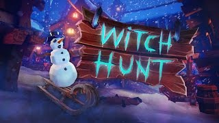 Hiding in Plain Sight! Wintery Prop Hunt!! (Witch Hunt Game / Gameplay)