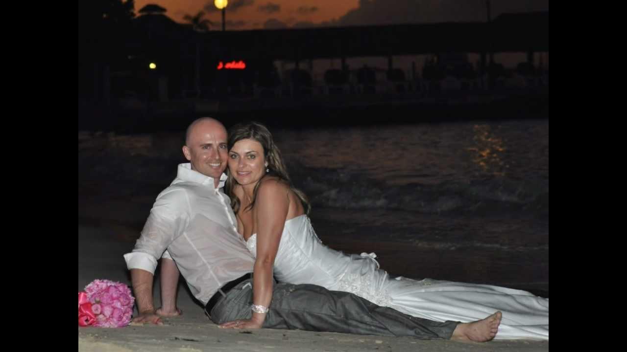 Richard Amp Bobbi Photo Montage Wedding Song Ocho Rios Jamaica Sandals Grande Riviera