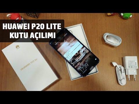 Huawei P20 Lite Kutu Açılımı / İlk Bakış