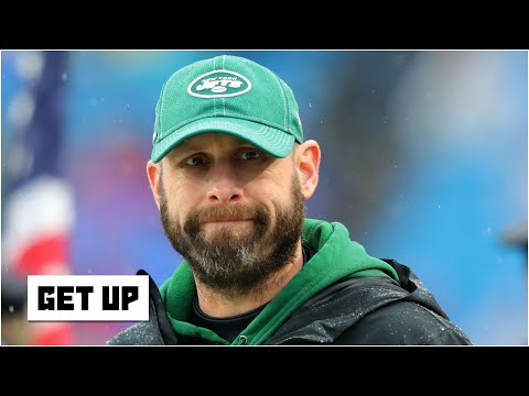 Reacting to Adam Gase being called a 'brilliant offensive mind' by Jets owner Chris Johnson | Get Up