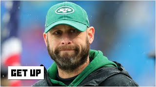 """Mike greenberg, damien woody, adam scheftter and louis riddick respond to new york jets owner christopher johnson calling head coach gase a """"brilliant o..."""