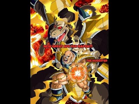 Devastating Carnage Nappa Dragon Ball Z Dokkan Battle Flowers Hd