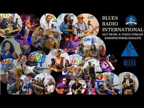 Blues Radio International 24/7 Live Blues For Planet Earth (4K)