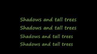 U2-Shadows and Tall Trees (Lyrics)