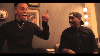 Aston Merrygold - The Late Late Show (Behind The Scenes)