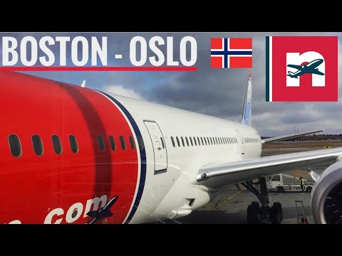 TRIP REPORT: Norwegian Airlines Boston-Oslo B787-8