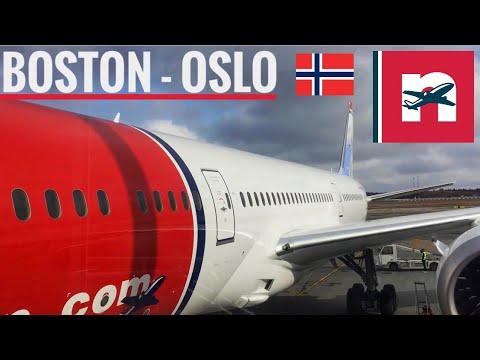 TRIP REPORT | Norwegian Airlines (ECONOMY) | Boeing 787-8 | Boston - Oslo