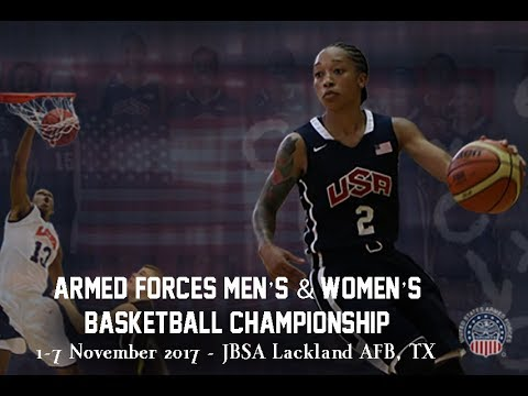 Air Force vs Marines - 2017 Armed Forces Sports Women's Basketball