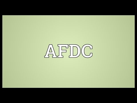 AFDC Meaning
