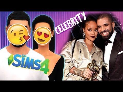 10 MINUTE CELEBRITY CHALLENGE! ?   Drake & Rihanna?!   The Sims 4 CAS thumbnail