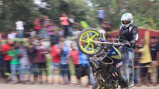 Stunt Show at Padmanadapuram Palac Road(Official Video)