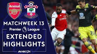 Arsenal v. Southampton | PREMIER LEAGUE HIGHLIGHTS | 11/23/19 | NBC Sports